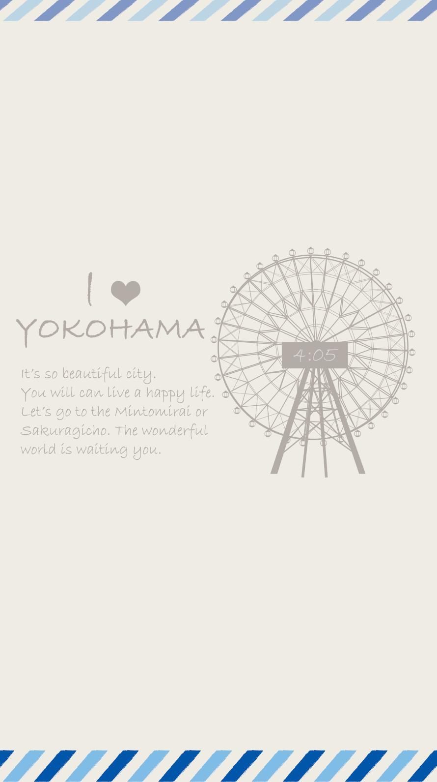 横浜待ち受け画像