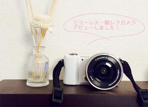 一眼ミラーレスカメラ