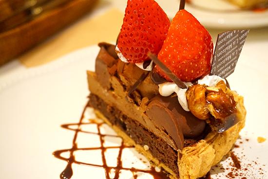 ラ・メゾンのタルトケーキ