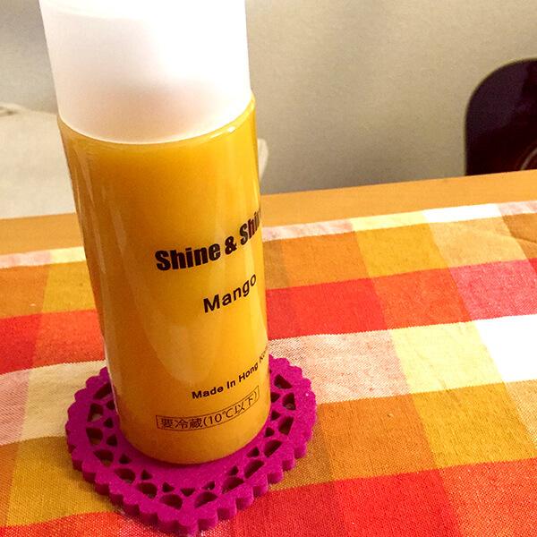 Shine&shineマンゴースムージー