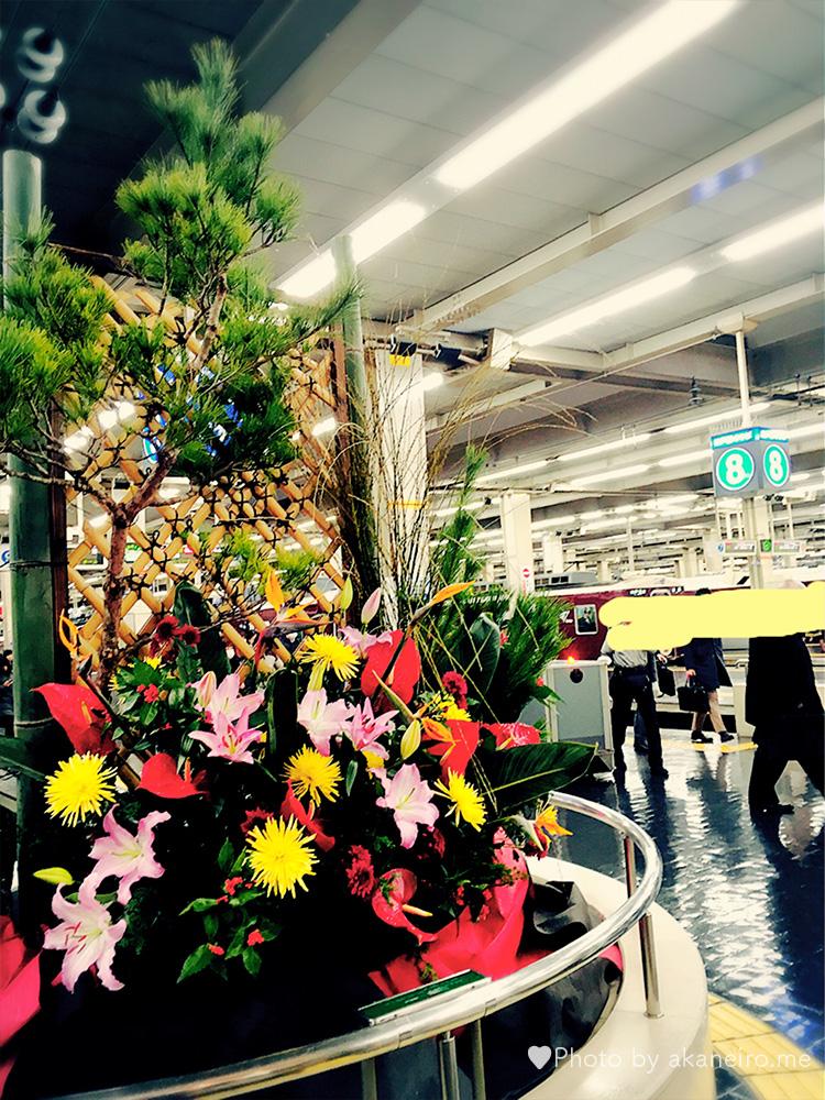 阪急梅田駅のお正月