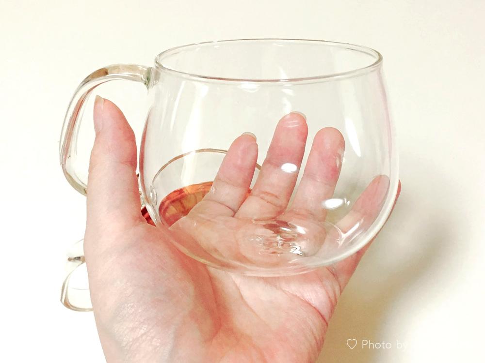 ガラスマグカップ