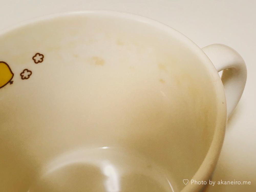 マグカップの茶渋