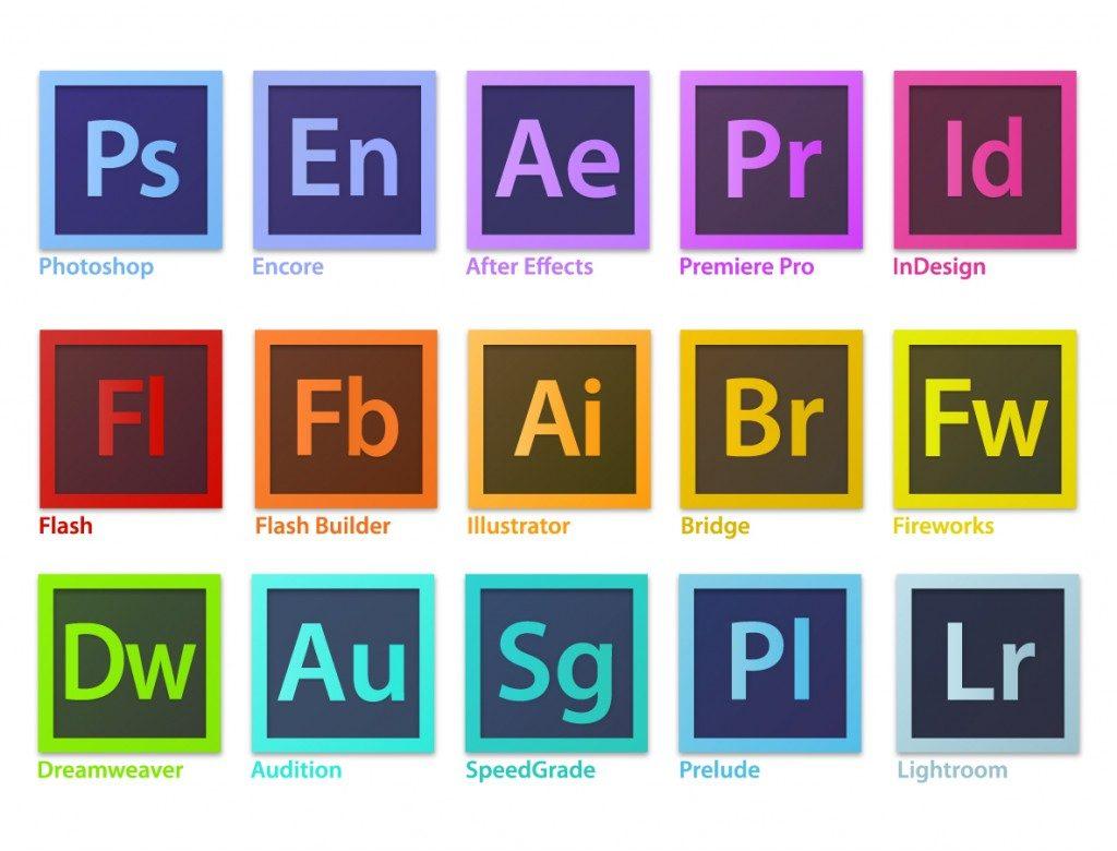 Adobe製品まとめ